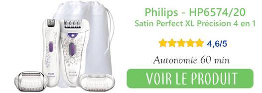 Épilateur philips hp 6574