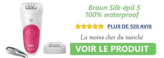 Epilateur waterproof Braun Silk epil 5